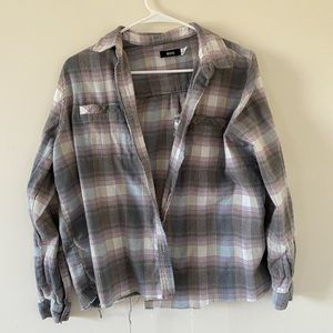 Urban outfitters BDG distressed flannel